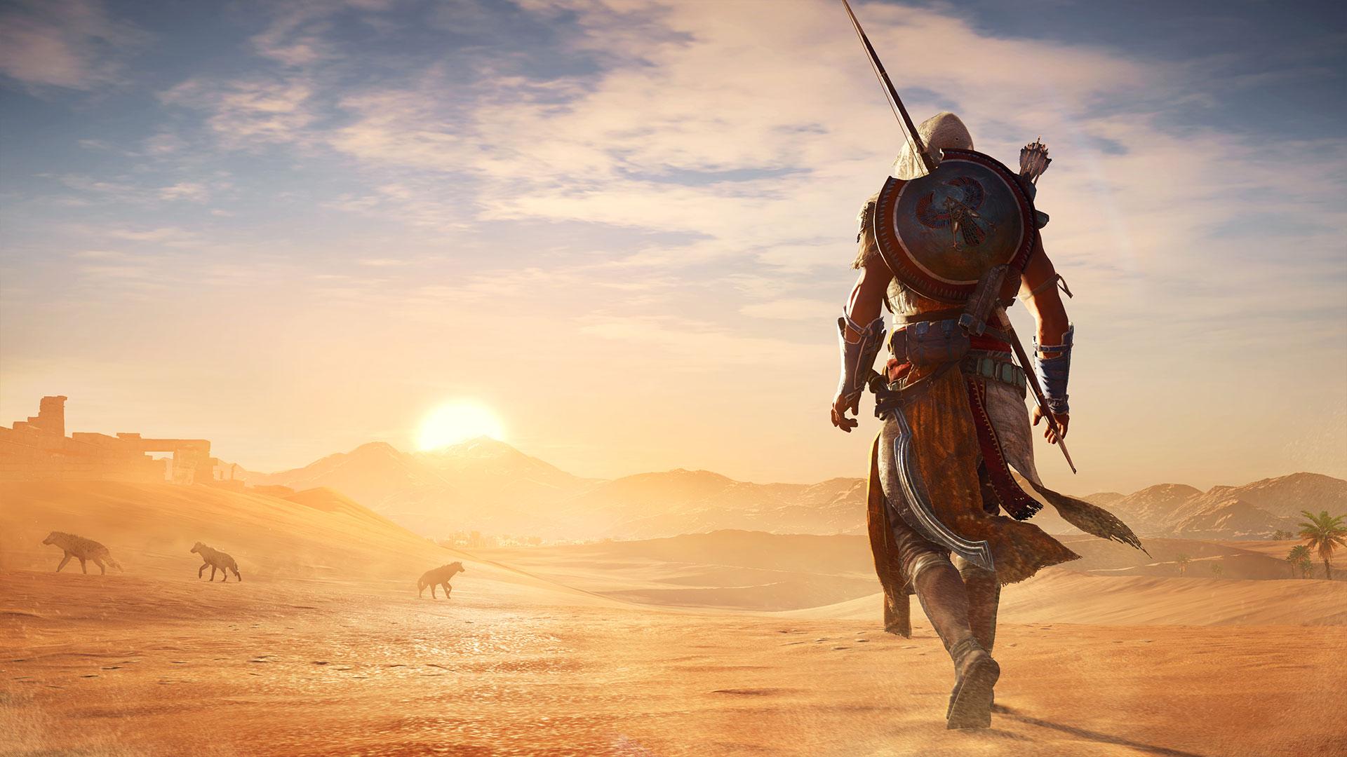 Assassin's Creed Origins de baş rolde kadın karakter bulunduruyordu
