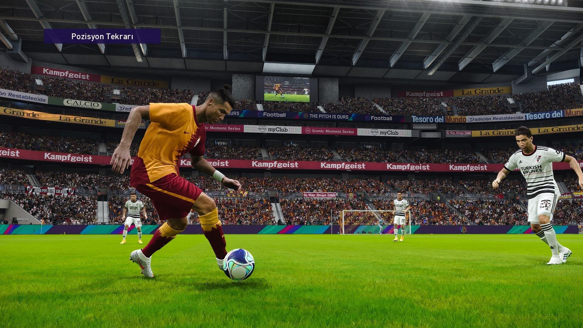eFootball PES 2021: Saha dizilişi açısından en iyi taktikler nelerdir?