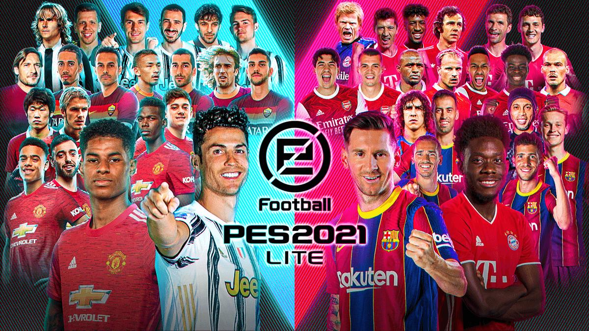 eFootball Pro Evolution Soccer 2021 Lite